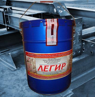 Огнезащитный состав для металла