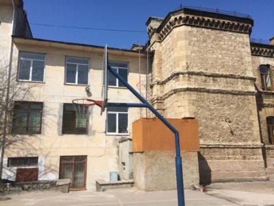 Испытание пожарных лестниц - школа