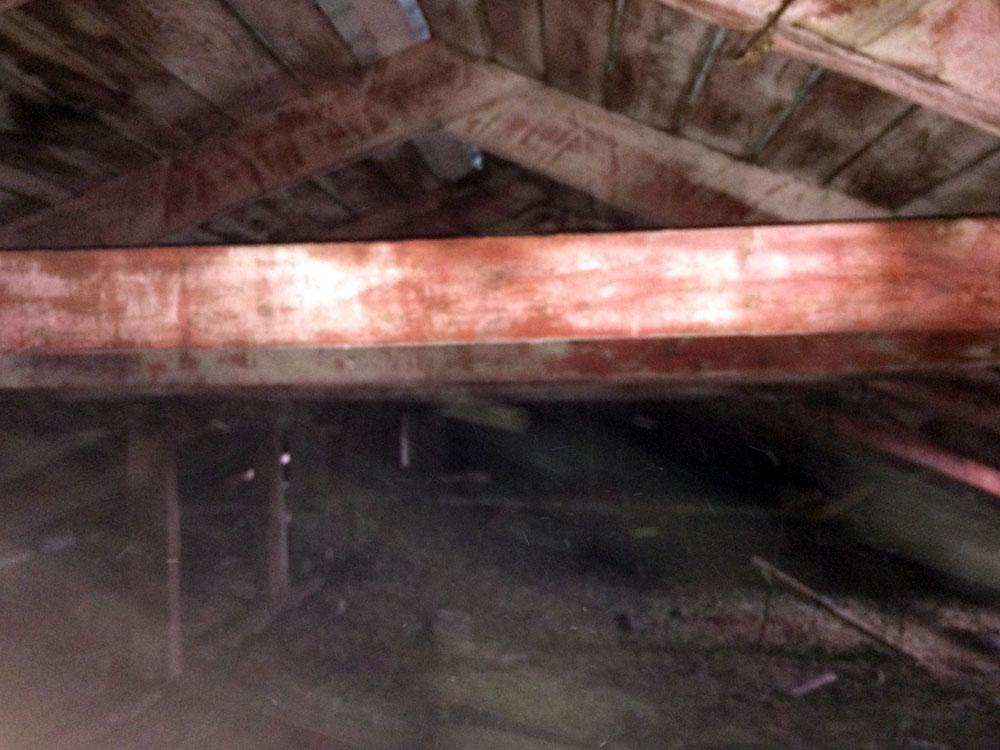 огнезащита деревянных конструкций чердака детского сада